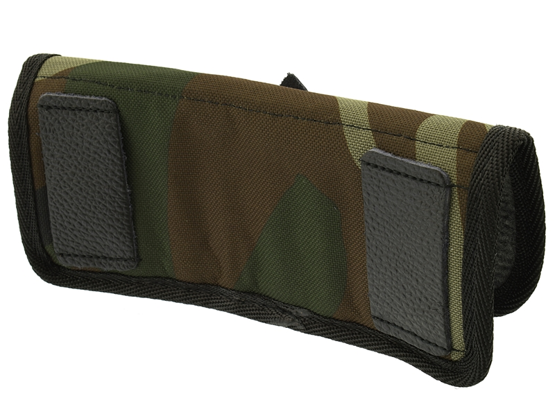 Подсумок поясной на 8 патронов 12, 16 или 20 калибра (кожа + ткань), Военохот арт. 845