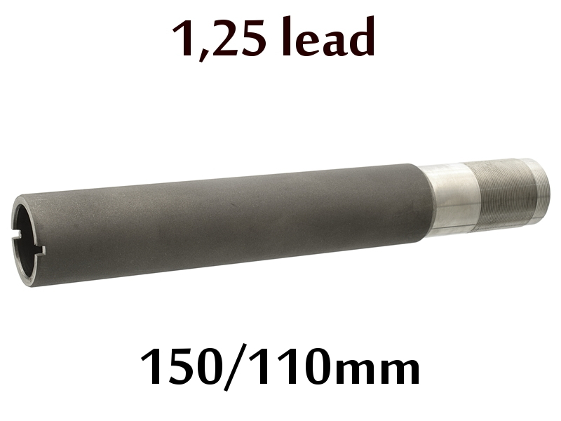 Дульная насадка (чок) 12 калибра Premium на МР (ИЖ) 155, 153, 27 длина 150/110мм, сужение 1,25 lead - усиленный чок (XF)