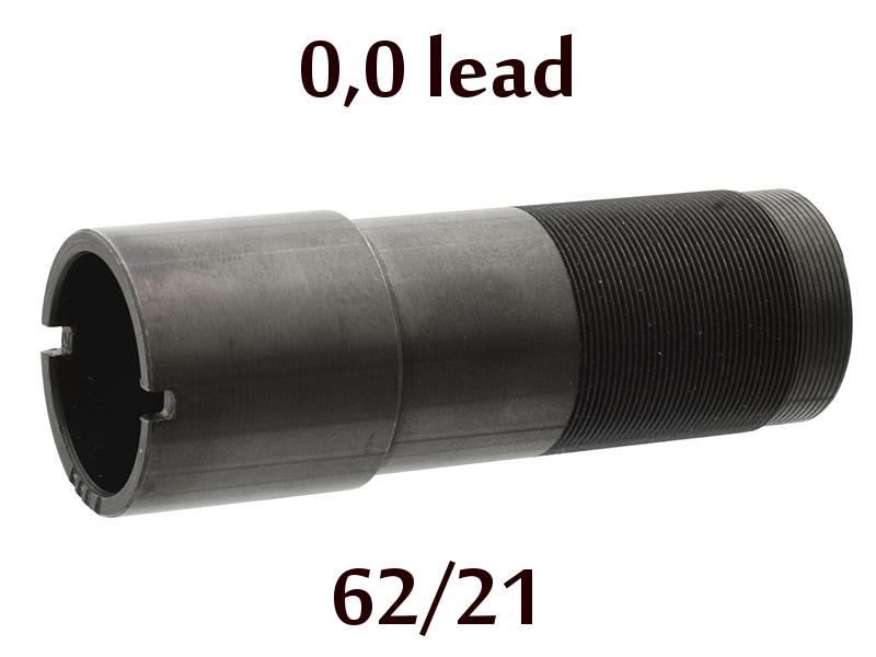 Дульная насадка (чок) 12 калибра на МР (ИЖ) 155, 153, 27 длина 62/21мм, сужение 0,0 lead - цилиндр (C)
