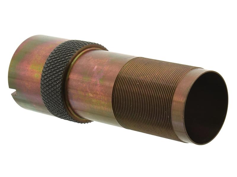 Дульная насадка (чок) 12 калибра из легированной стали на МР (ИЖ) 155, 153, 27 длина 63/22мм, сужение +0,1 steel - раструб (IC)