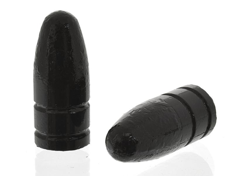 Пуля калибра 9,6х53 Lancaster (Ланкастер) круглоносая с полимерным покрытием 18,5, комплект 10шт
