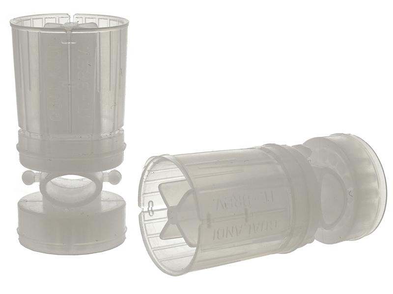 Пыж-контейнер 12 калибра Диспераснт X Gualandi для навески 24-28г дроби, упаковка 50шт