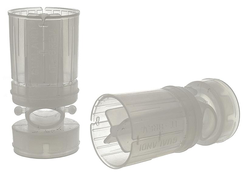 Пыж-контейнер 12 калибра Диспераснт X Gualandi для навески 32-33г дроби, упаковка 50шт