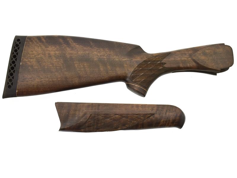 Комплект приклад + цевье на ИЖ_27 Старого образца Монте-Карло орех, арт. 12873