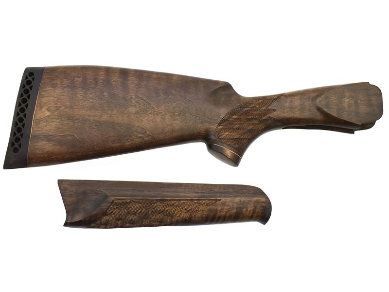 Комплект приклад + цевье на ИЖ_27 Старого образца Монте-Карло орех, арт. 12874