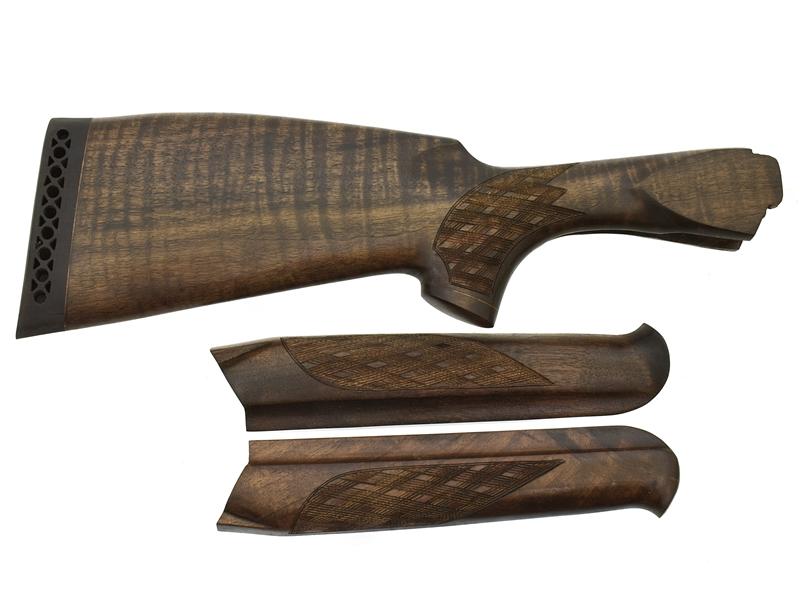 Комплект приклад + цевье на ТОЗ-34 Монте-Карло Люкс орех, арт. 12883