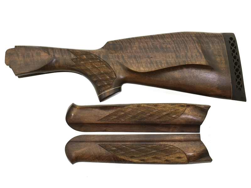 Комплект приклад + цевье на ТОЗ-34 Монте-Карло Люкс орех, арт. 12885
