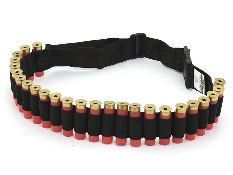 Лента-патронташ (бандольера) на 25 патронов 12, 16 или 20 калибра, Военохот арт. 853