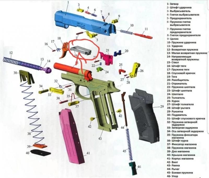 Взрыв-схема ГРОЗА