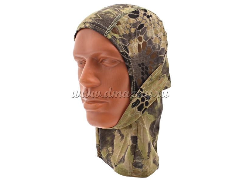 Шлем-маска осенний лес