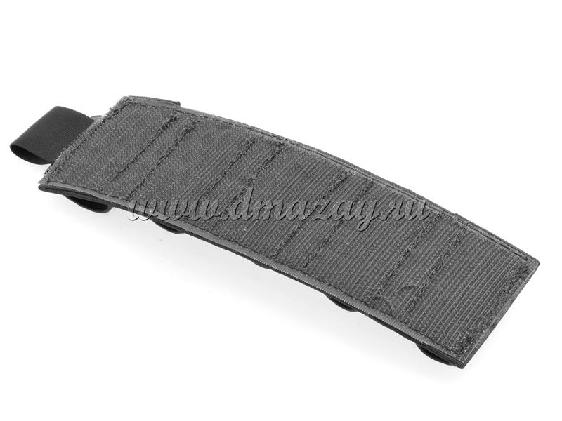 Съемный патронташ на 5 патронов 12 калибра с липучкой-Velcro, цвет Черный
