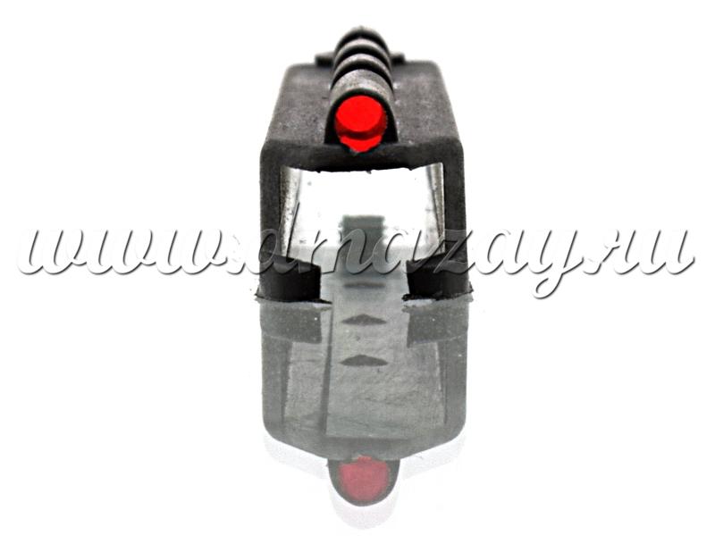 Мушка оптоволоконная truglo МР-155 красная