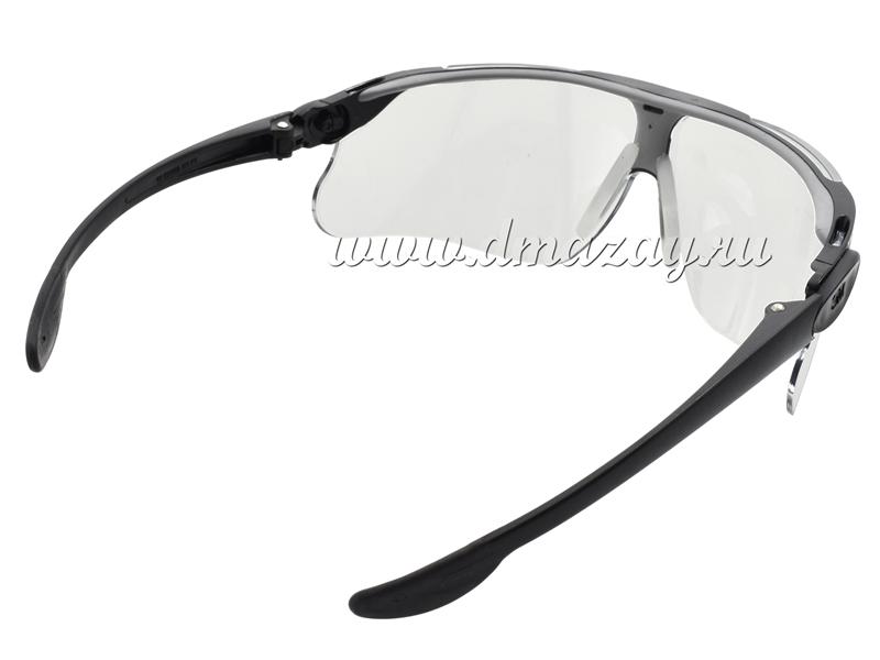 Очки стрелковые с регулируемыми по наклону съемными дужками Peltor MAXIM Ballistic 13296-00000М Прозрачные