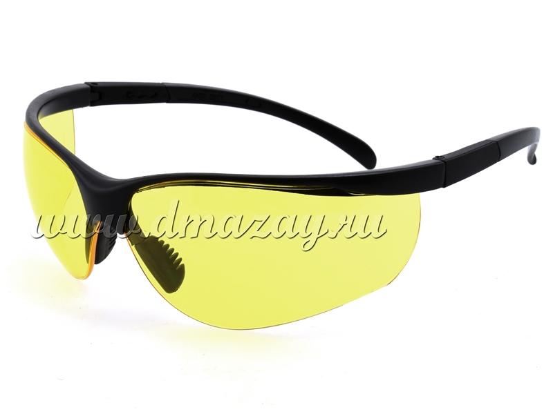 Очки баллистические Caldwell с желтыми линзами
