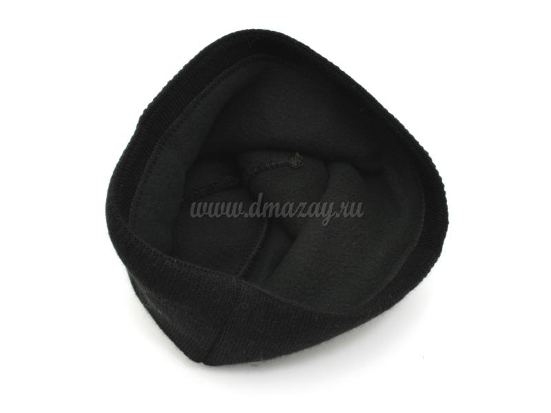 шапка с флисвовой подкладкой