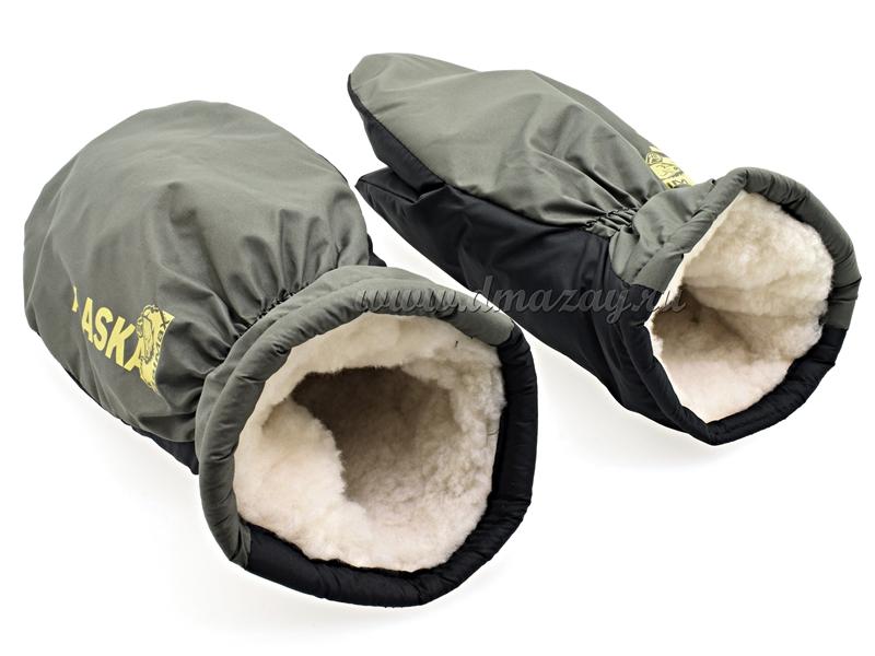 Варежки (рукавицы) для зимней рыбалки Alaska