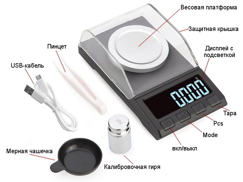 весы до тысячных грамма