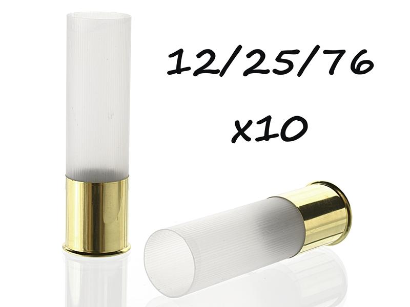 гильза cheddite 12 магнум калибра прозрачная