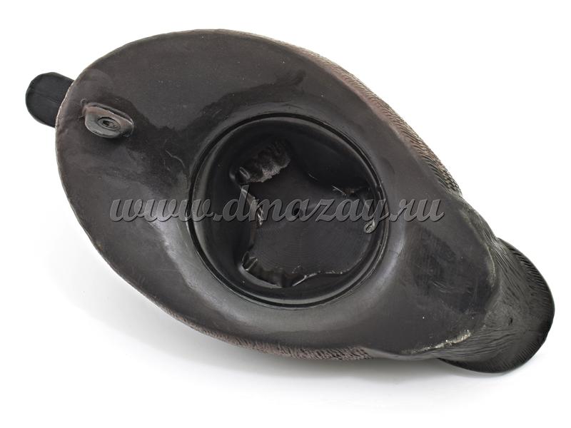 Чучело водоплавающее резиновое Красноголовый нырок утка Mankoff