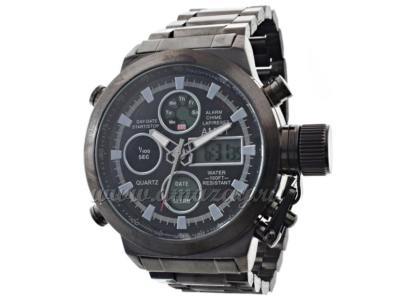 Часы AMST с металлическим ремешком