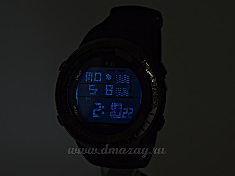 Часы 5.11 tactical series, модель 2 черного цвета