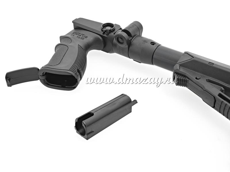 Снайперский складной телескопический приклад Fab-Defense на СВД (Тигр) M4 SVD