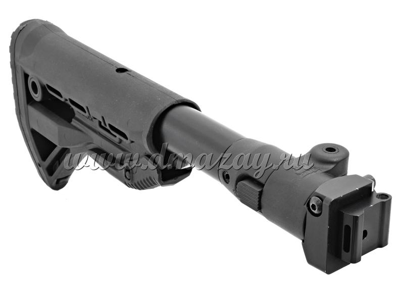 Складной телескопический приклад со встроенным буфером отдачи GL-SHOCK Fab-Defense M4-AKS P на АКС-74У