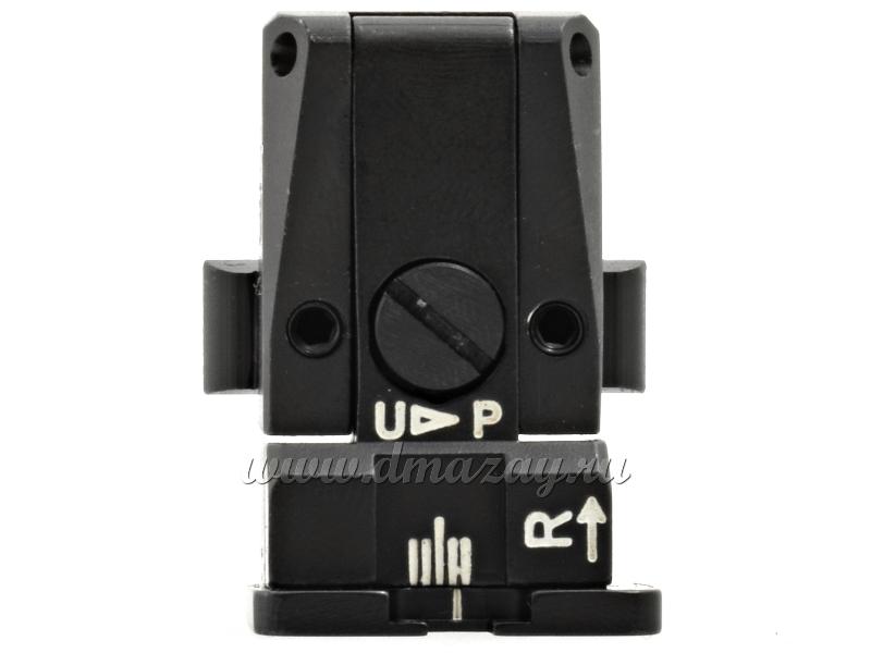 Мушка с регулируемым целиком LPA Sights SPR36GL для автоматического пистолета Glock