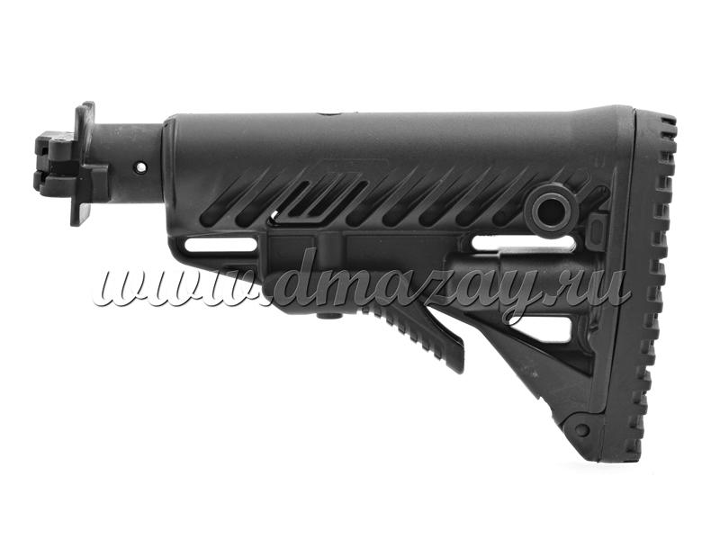 Телескопический приклад Fab Defense M4-VEPR FK для Вепрь-12 (ВПО-205) и др. с подобным креплением