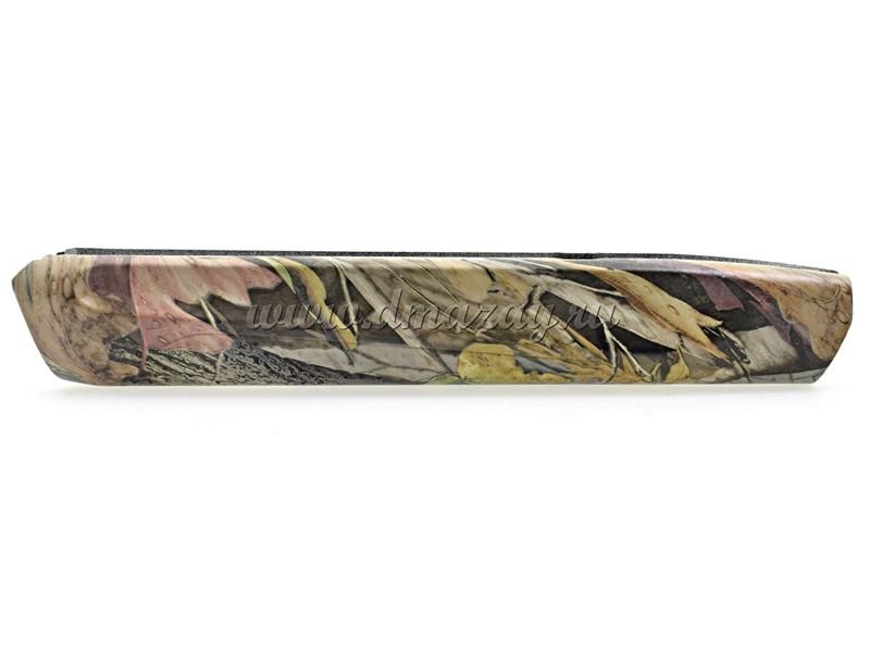 Приклад и цевье (комплект) для охотничьего ружья МР-155 (MP 155) пластик, цвет Лес (осень)