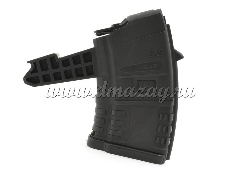 Магазин СКС на 10 патронов пластиковый черный