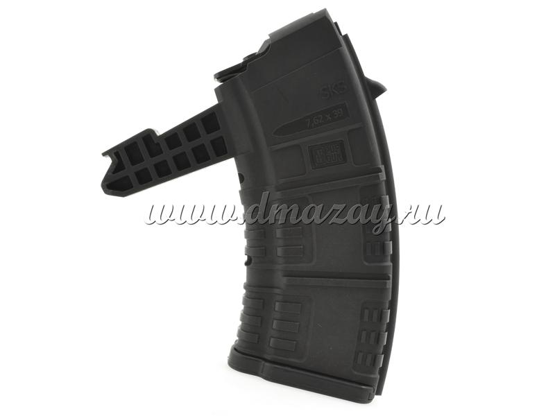 Магазин СКС на 20 патронов пластиковый черный