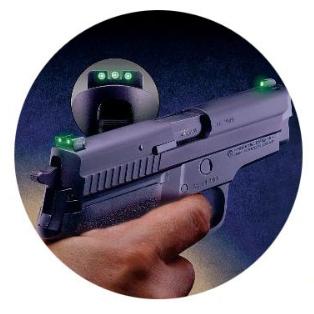 Мушка глок светящаяся для ночной стрельбы