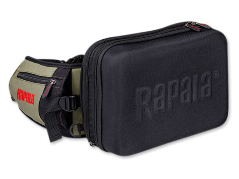 Сумка для рыбалки поясная Rapala Limited Hybrid Hip Pack 46039-1 .