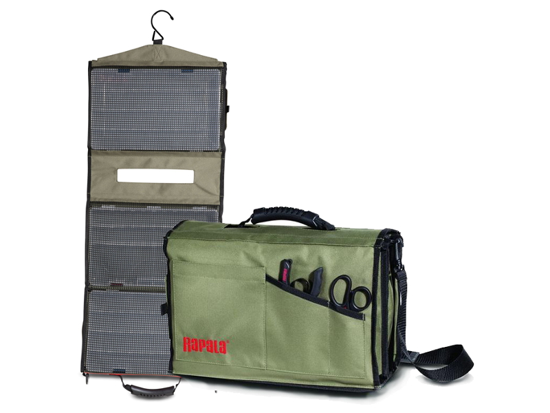 Сумка для рыбалки Rapala Limited Edition Convertible Lure Case 46030-1 .