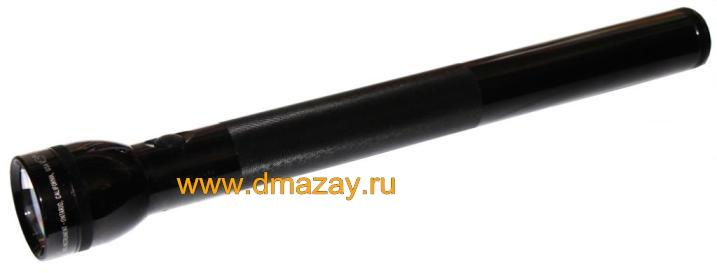 Фонарь MAGLITE (МАГЛАЙТ) S 5D 016 FLASHLITE  5-Cell D BLACK на 5 батарей черный
