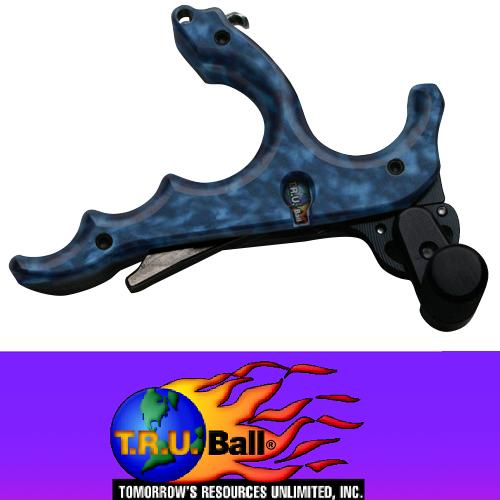 Релиз для блочного лука T.R.U. BALL ST Series ULTRA 4 FINGER Release (SBR4).