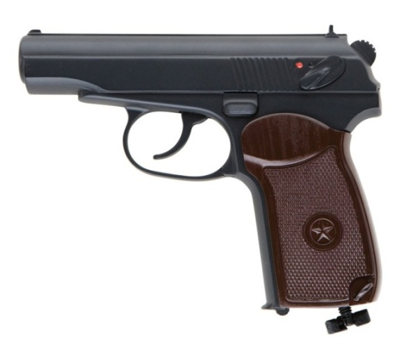 Пневматический пистолет Макарова UMAREX MAKAROV 5.8152 CO2  Pistol cal. 4,5 mm (.177) BB