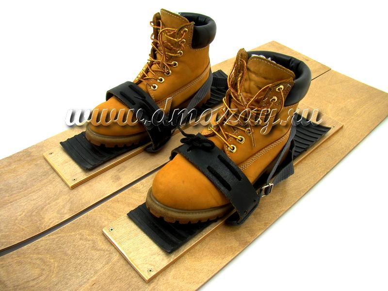 44b751194261 Крепления для охотничьих лыж универсальные резиновые с поддержкой пятки