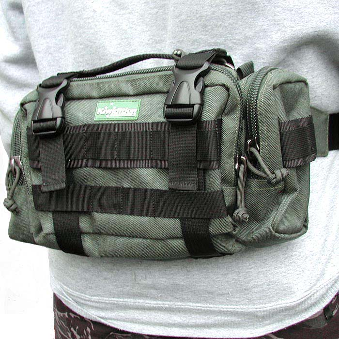Сумка  Kiwidition PAIHAMU (OD Green) – DuPont Poly Cordura