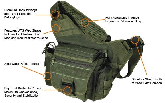 Комфортная и эргономичная многофункциональная тактическая сумка для полевых операций или повседневного использования.
