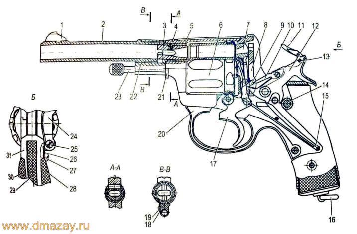Револьвера Наган