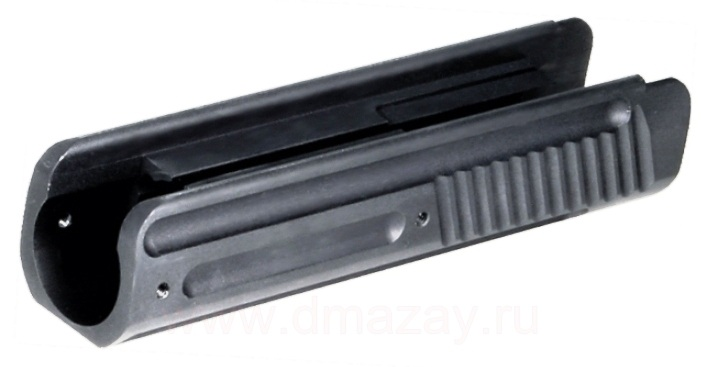 Цевье тактическое из алюминиевого сплава для гладкоствольного охотничьего ружья 12 калибра (12 Ga) (РЕМИНГТОН) - 870...
