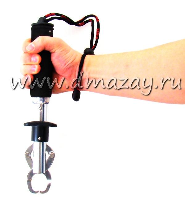 Весы рыбацкие (для взвешивания рыбы) универсальные механические с захватом и диапазоном измерений до 25 кг Rapala (РАПАЛА) MFG25