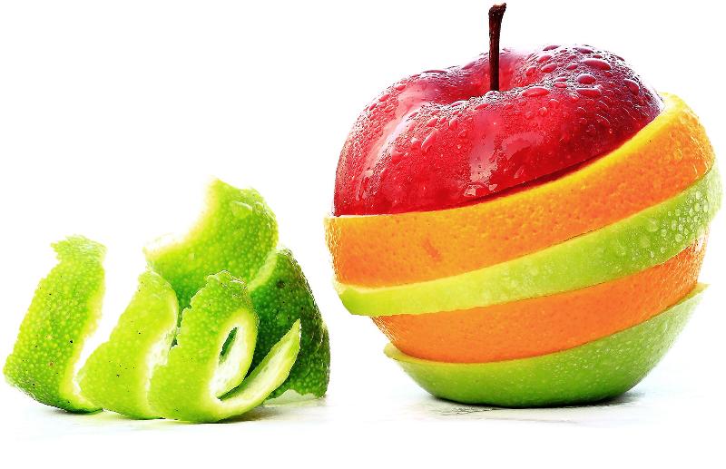 яблапельсин декорация