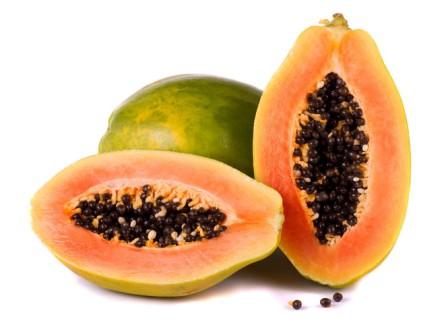 зелено-оранжевый фрукт декорация