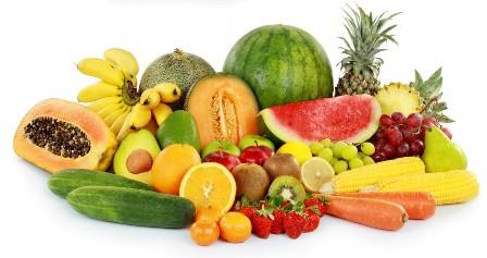 фрукты-овощи декорация