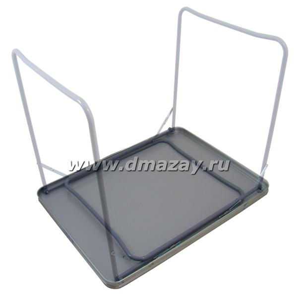 Стол складной Taiga 1886 алюминиевый (80х60х70см) без чехла