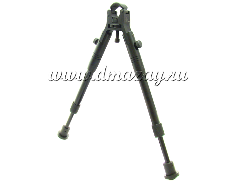 Сошки для оружия на ствол регулируемые по высоте (складные) Leapers (ЛИПЕРС), арт. TL-BP08S-A