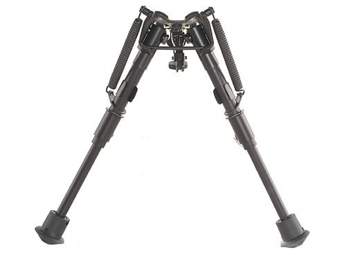 """Сошки для оружия телескопические Bipod Harris (Харрис) серия 1А2 модель BR (HBR, HBBR) Extends 6"""" to 9"""" Standard Legs (Bench Rest)"""